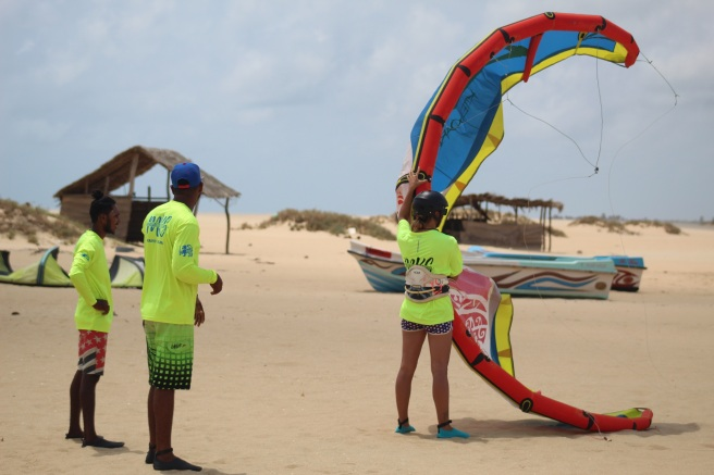 kitesurfing school in Sri Lanka