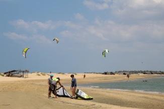 best kite spot in kalpitiya